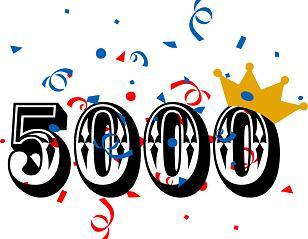 Le 5000e visiteur à Chercheur-e d'un jour!