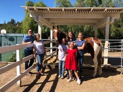 Santi and the McKeown Family