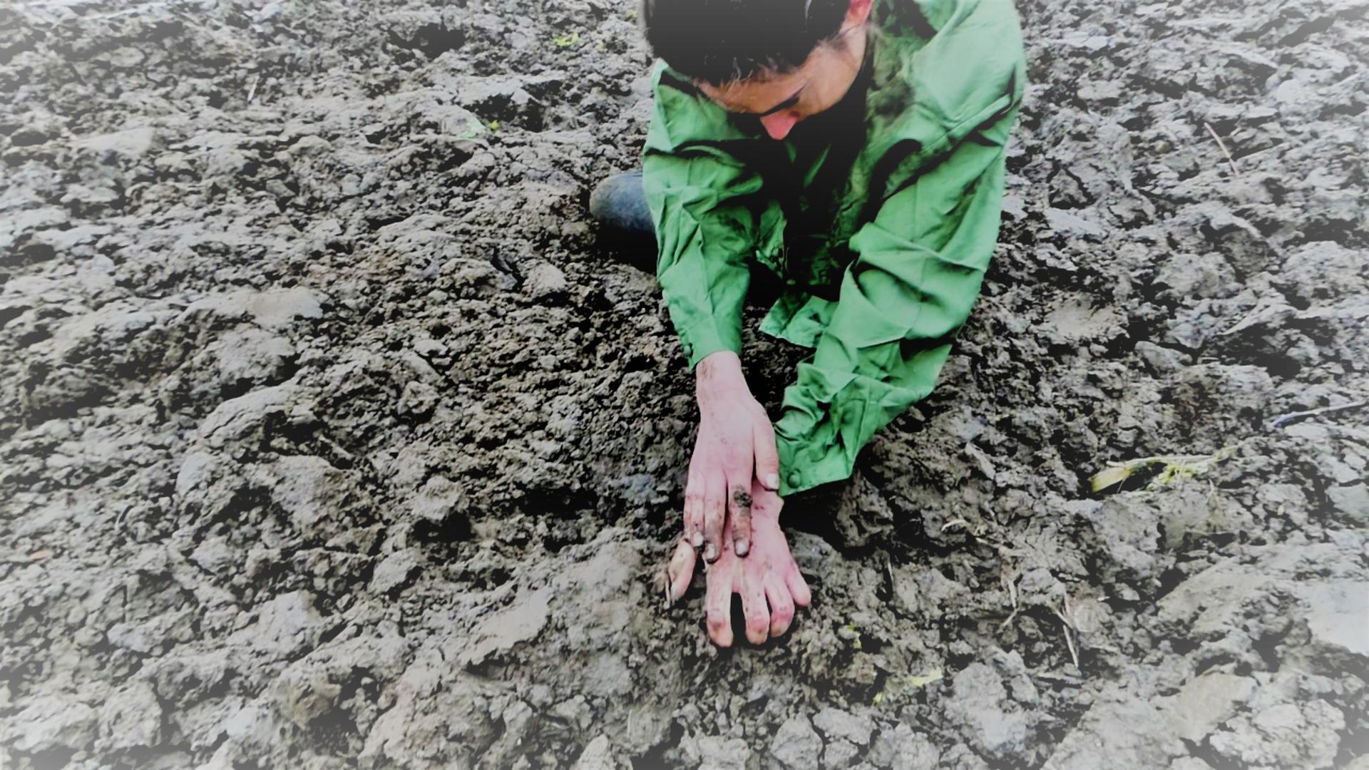 Miriam Markl erkundet die Welt um sich herum mit ihren Fingerspitzen