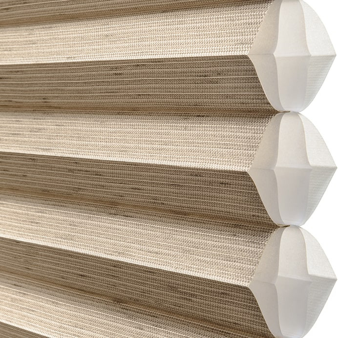 Hunter Duette India Silk fabric | Cle Elum Blinds + Shades