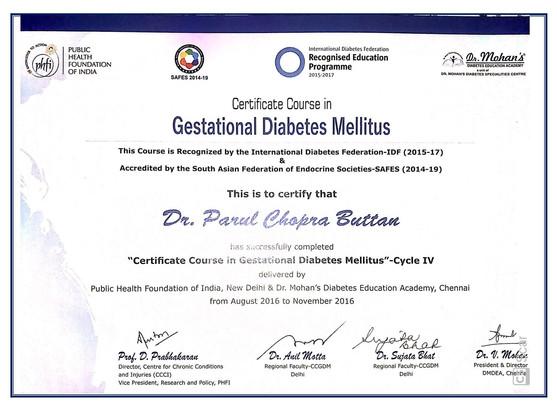 Gestational Diabertes Expert