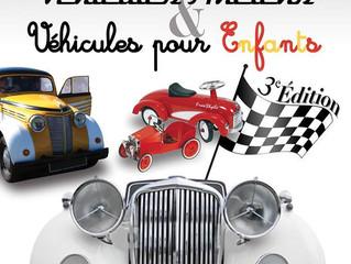 Exposition véhicules anciens et véhicules enfants