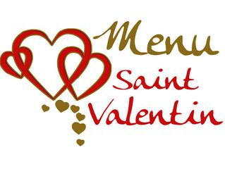 Menu St Valentin 2020