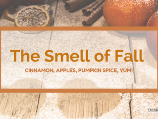 The Smell of Fall...Cinnamon, Apples, Pumpkin Spice, YUM!