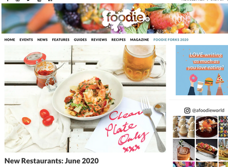IN THE PAPERS : FOODIE