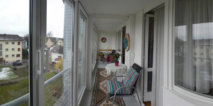 verglaste Balkon