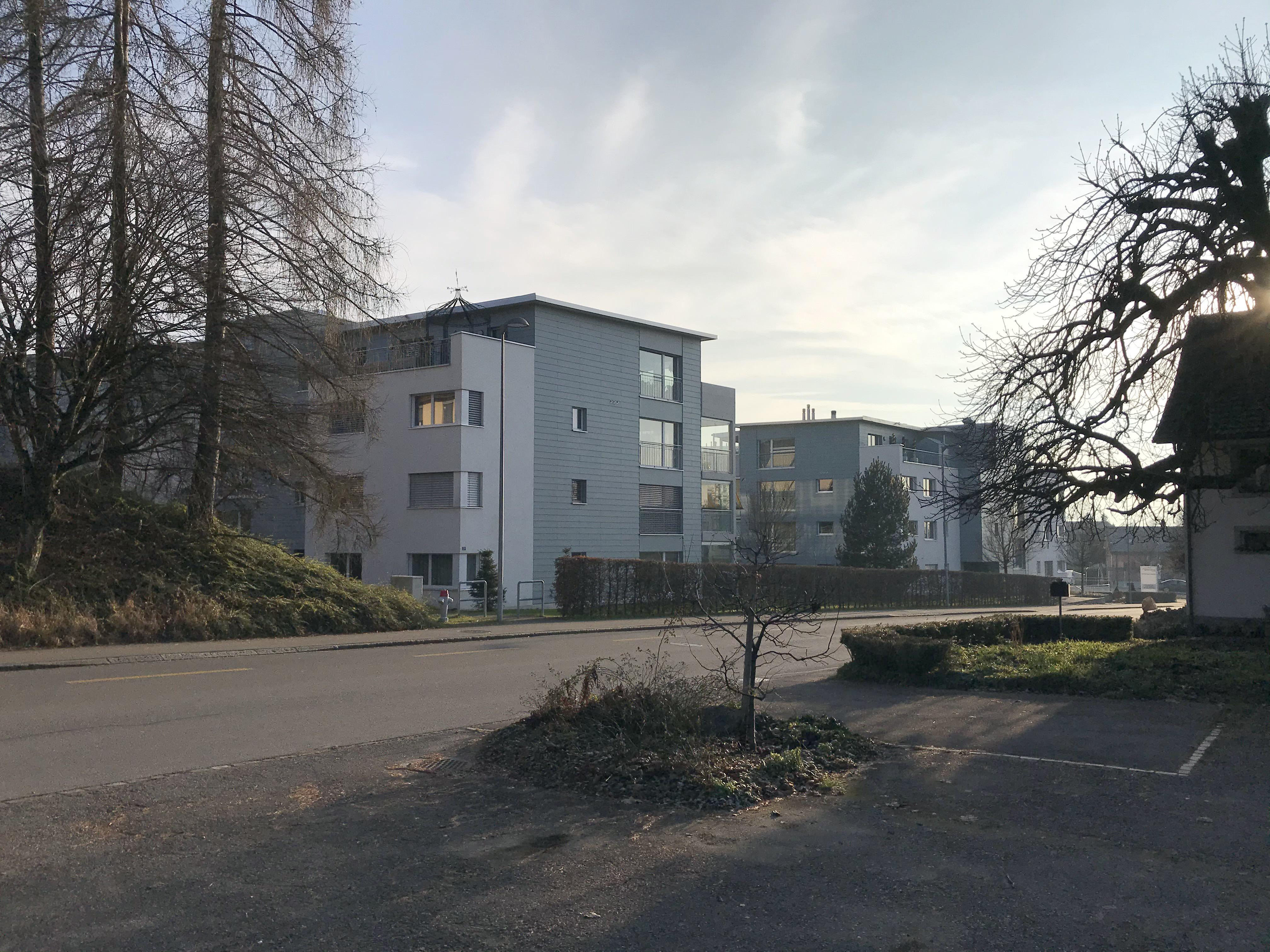 Aufnahme von der Nauenstrasse