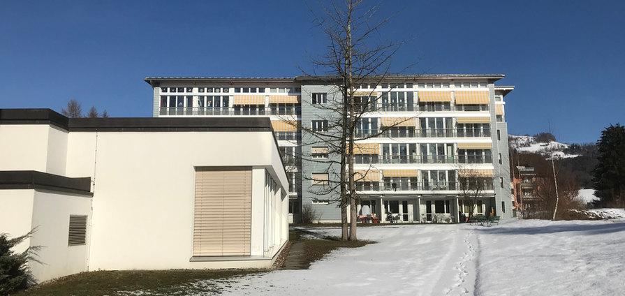 Winterlandschaft Haus 1