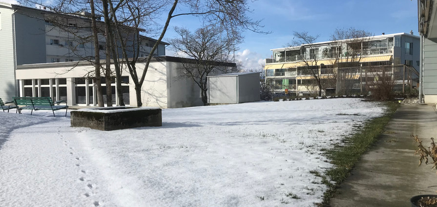 Winterlandschaft Kirchgemeindesaal