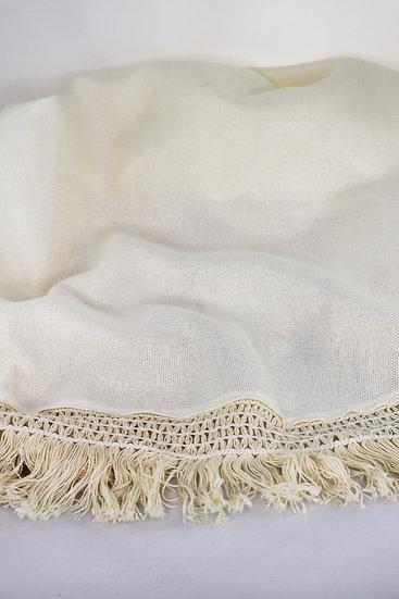 ivory fringe tree skirt.