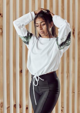 laguna lane | ribbed black leggings