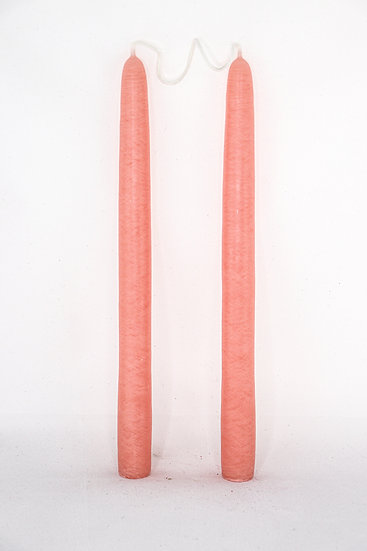 peach tapers set.