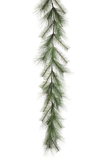 artificial pine garland.