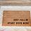 Thumbnail: fallin' coir welcome mat.