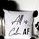 Thumbnail: 'all is calm' throw pillow cover.