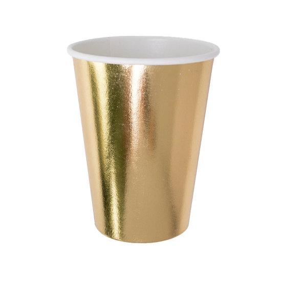 posh paper cups.