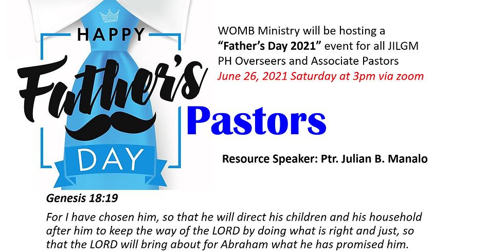 FATHER'S DAY CELEBRATION FOR JILGM PASTORS