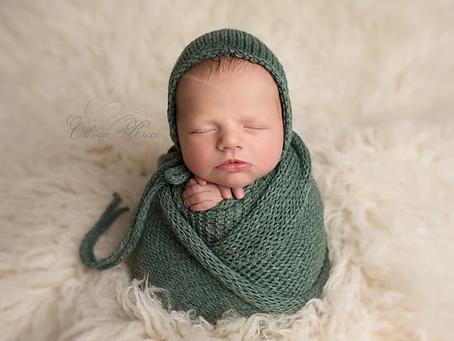 Little Lorcàn - newborn photographer Hertfordshire