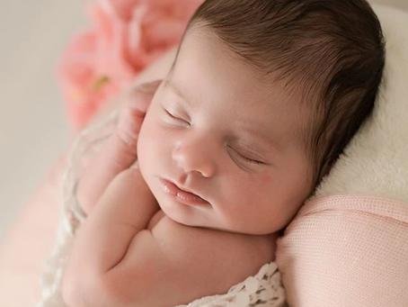 Pretty Penelope | Newborn baby photographer Hertfordshire