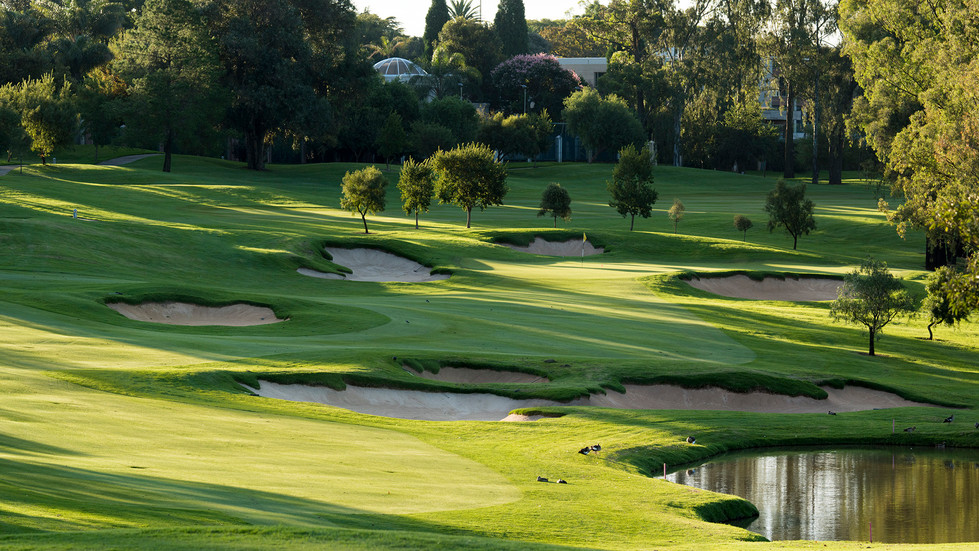 Houghton Golf Club 1st Hole