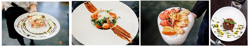 Примеры сервировки блюд в ресторане «Цех» (Набережные Челны)