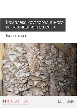 Бизнес-план комплекса по выращиванию грибов вешенка, с финансовой моделью