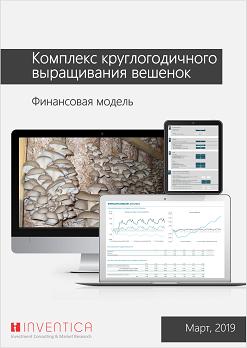 Финансовая модель комплекса по выращиванию грибов вешенка