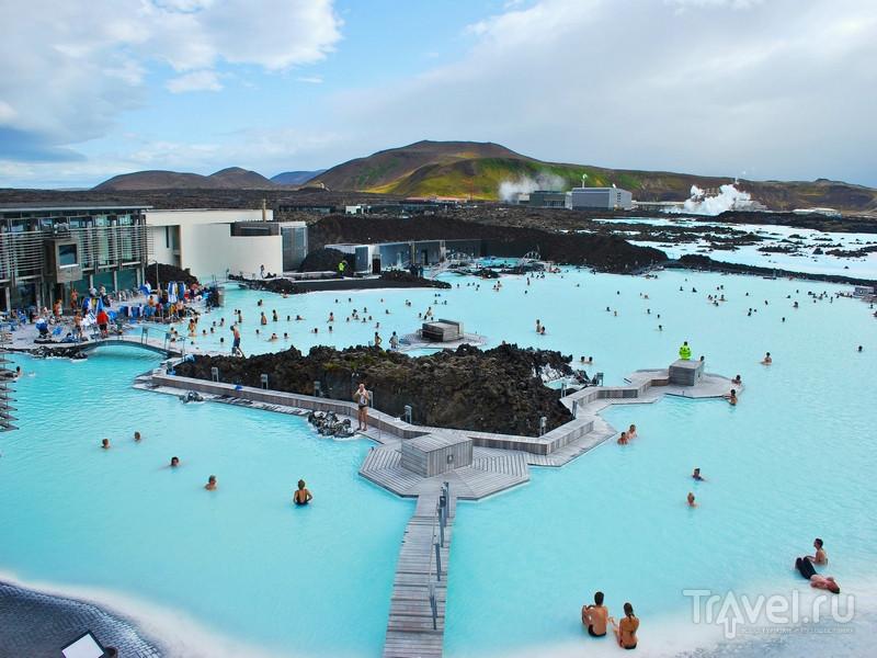 Геотермальный комплекс Blue Lagoon в Исландии