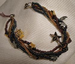 Celestial charm bracelet