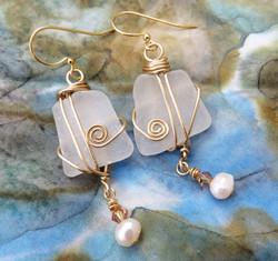 Musical elegance earrings