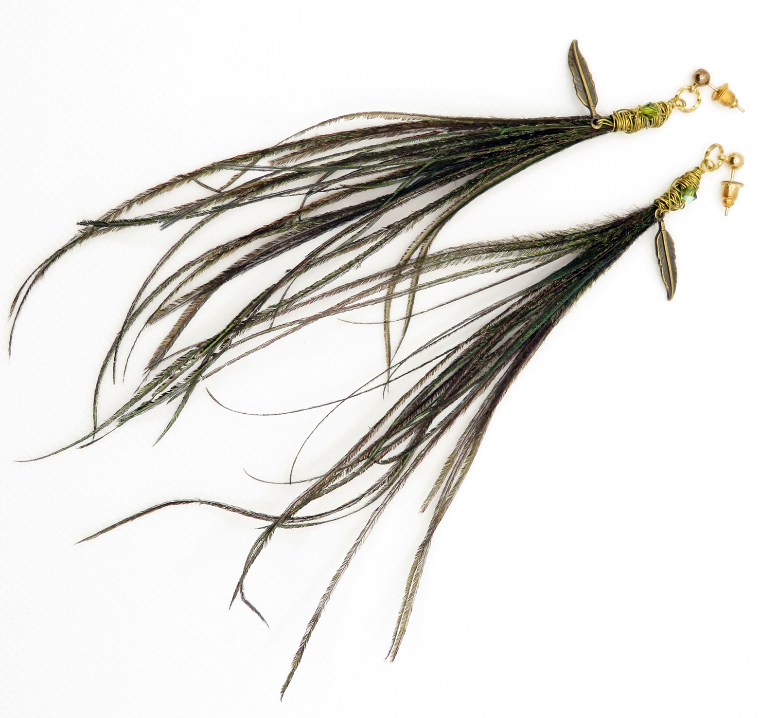 "Long Feather ""Tassels"""