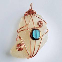 large pendant (copper)