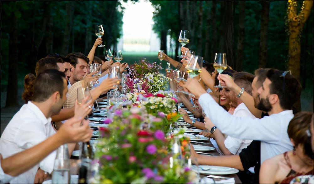 wedding feast in france