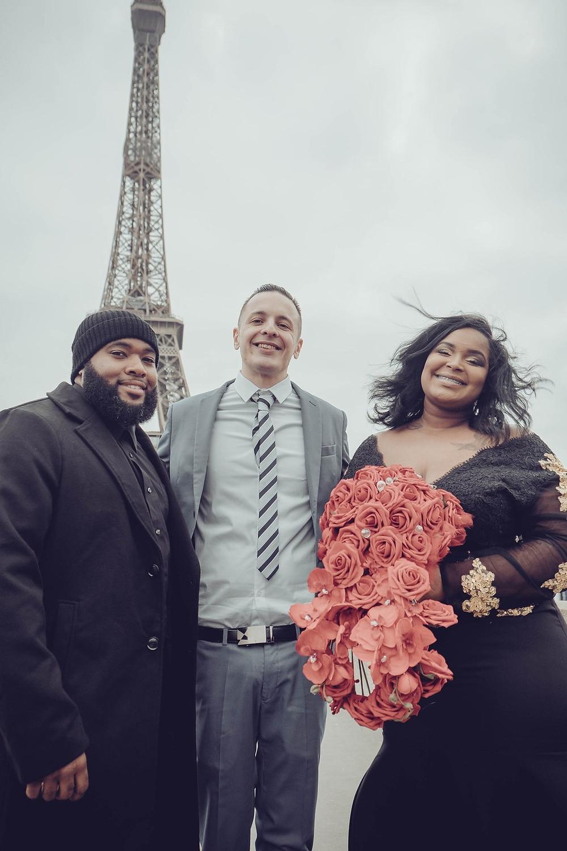 eiffel tower dream wedding