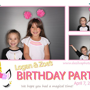 Logan & Zoe's Birthday Party