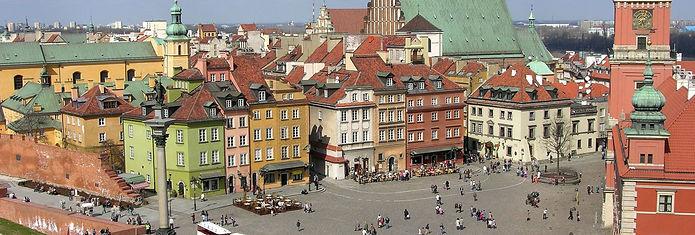 Plac_Zamkowy_w_Warszawie_widziany_z_wież