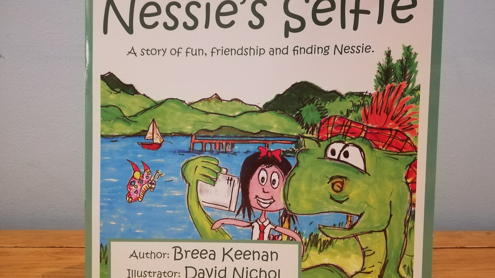 Click the image above to buy: Nessie's Selfie - Scottish children's picture book