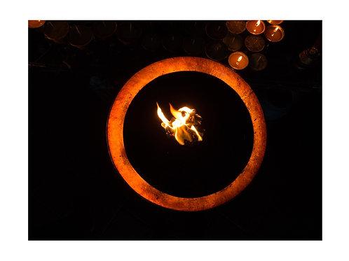 Holy fire in Bodnat (NEPAL)