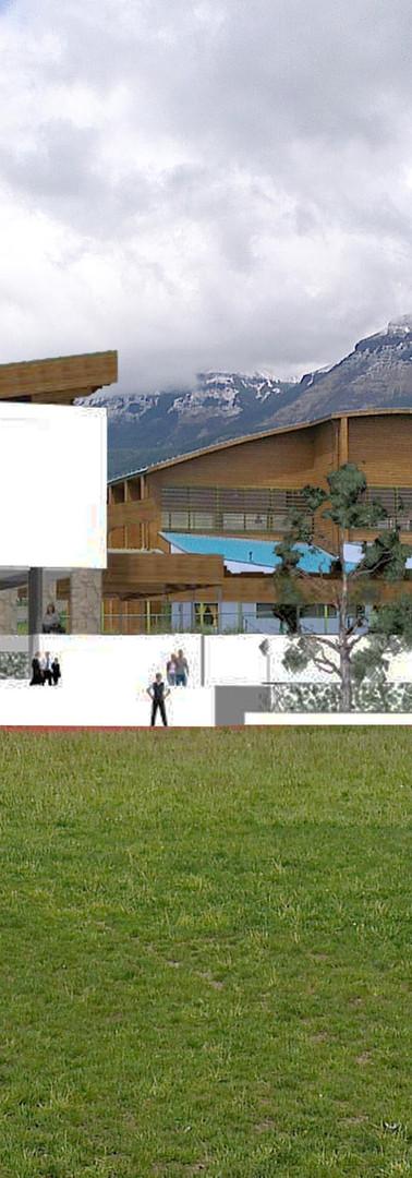 Edificio IND Coyhaique