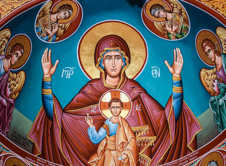 Reflections on the Sacred Morning in Which our Holy Mother Departed