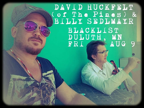 David Huckfelt Billy Sedlmayr