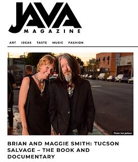 Brian & Maggie Smith Java Magazine