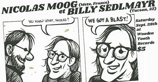 Billy Sedlmayr & Nicolas Moog at Wooden