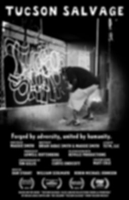 Tucson Salvage documentary poster with f