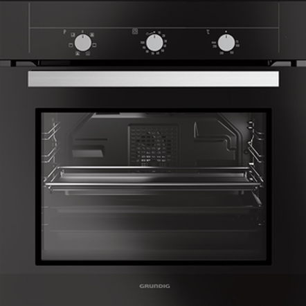 GRUNDIG ELECTRIC  BUILT IN OVEN . CLASS A. MODEL GEBE12000B