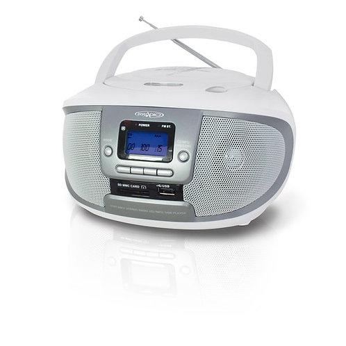 Irradio CD - MP3 Boombox USB