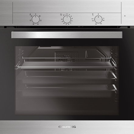 GRUNDIG ELECTRIC  BUILT IN OVEN . CLASS A. MODEL GEBE12000X