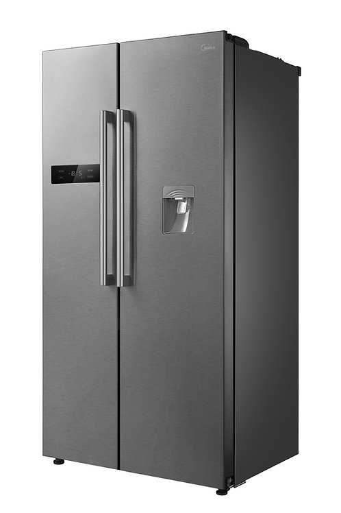 MIDEA American Style Fridge Freezer. NON FROST .Model number 689.INOX