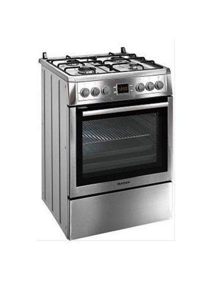 Blomberg Gas Hob With Electric Oven.  Inox .Model number HGN9325E