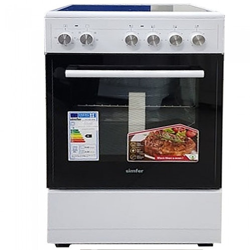 SIMFER ELECTRIC OVEN WITH CERAMIC GLASS TOP. MODEL 5047